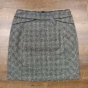 NWT! WHBM Tweed Boot / Pencil Skirt Size 8